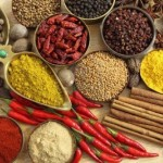 14787193-spices-and-herbs-in-metal-bowls-food-and-cuisine-ingredients-colorful-natural-additives